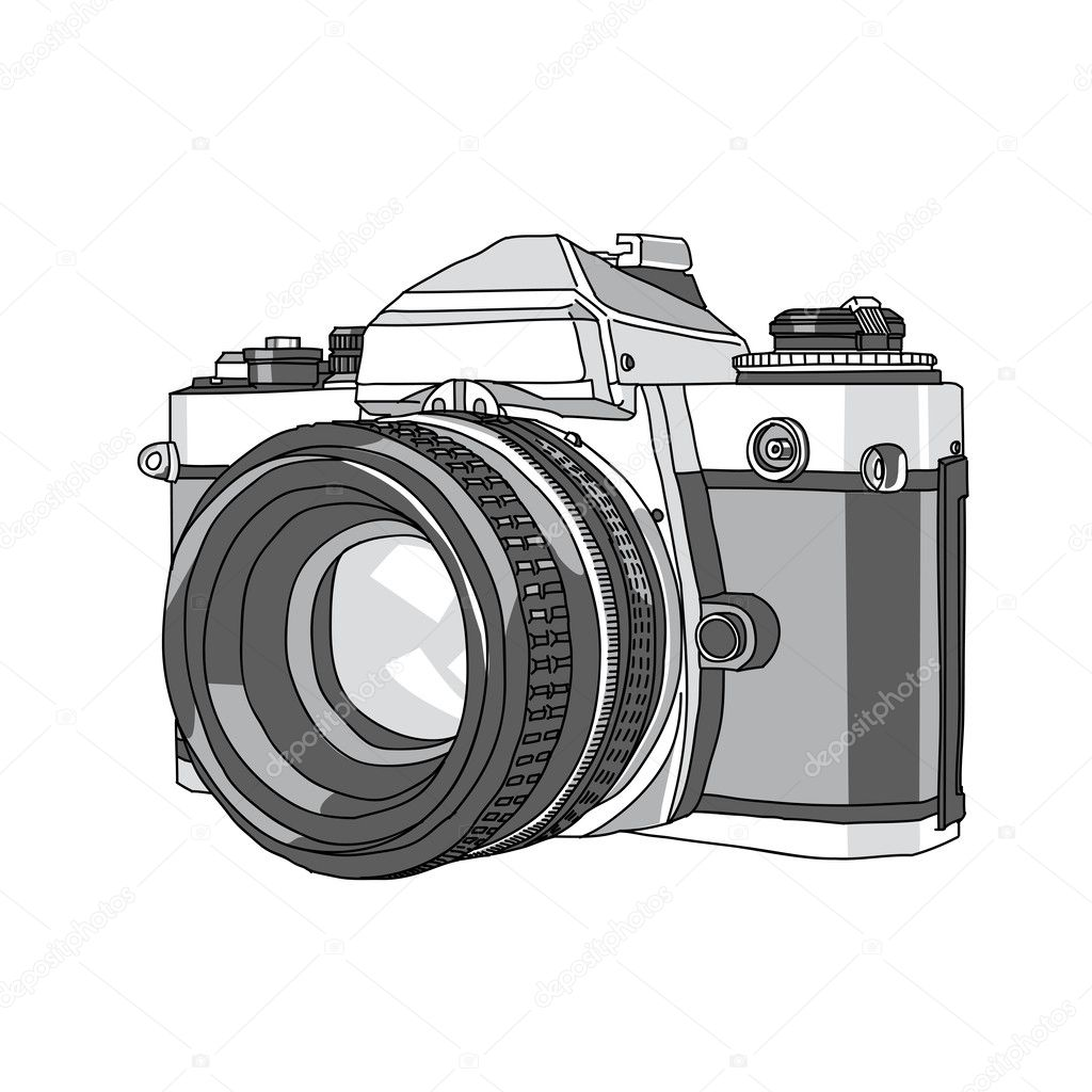 spesso Camera Stock Vectors, Royalty Free Camera Illustrations  EK15