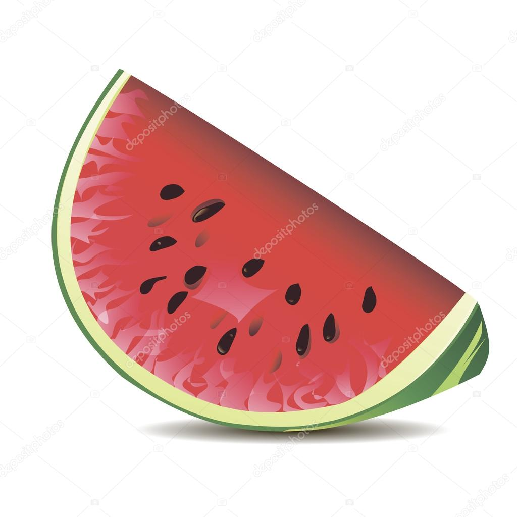 Red juicy watermelon seeds