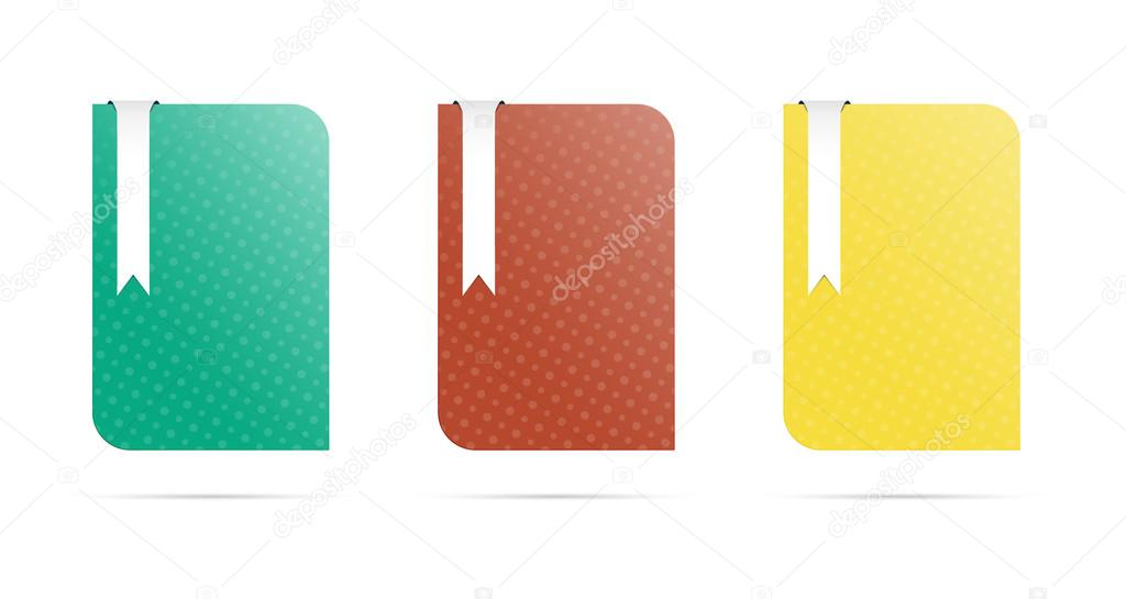 blank template with bookmark stock vector madtom 30918135