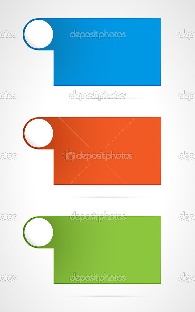 Template With Circle Tag Stock Vector C Madtom 30918925