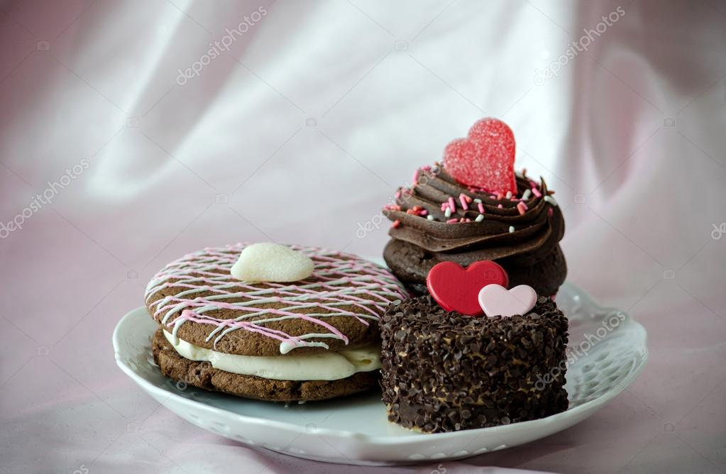 Ausgefallene Kuchen Fur Deine Liebe Stockfoto C Inyrdreams 40572489