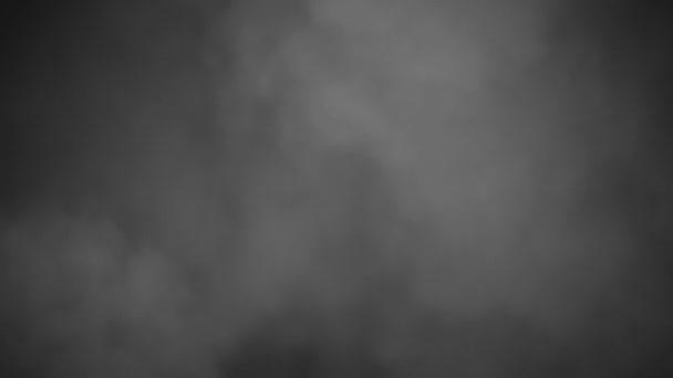 mraky kouře