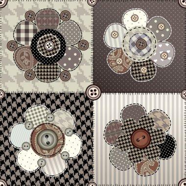flower quilting design