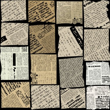 newspaper patches