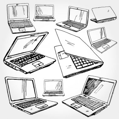 Illustration of Laptop