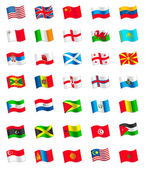 Fotografia bandiere del mondo
