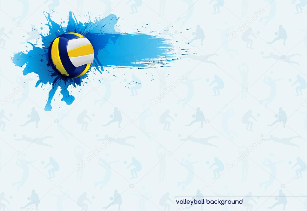 Volleyball Abstract Stock Photos Volleyball Abstract: Векторное изображение © Leeestat #48684861