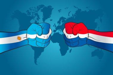 Argentina versus Nederland