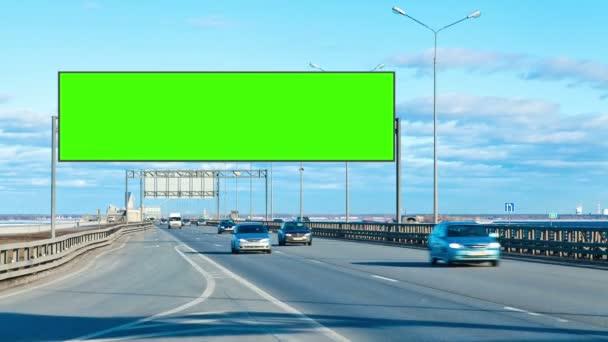 Billboard zelená obrazovka