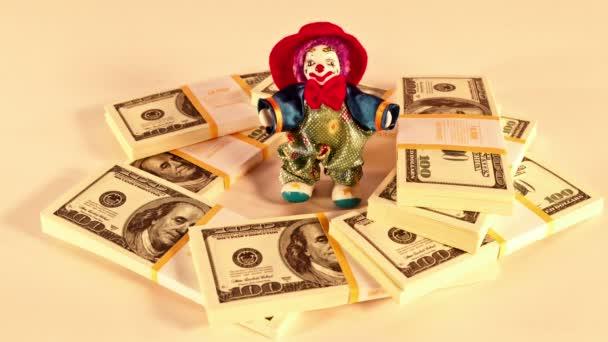 muž a peníze. bankrot