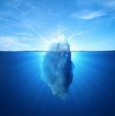 Fotografie Iceberg under water