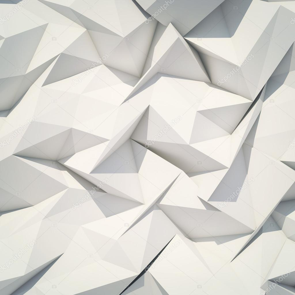 Abstract background origami