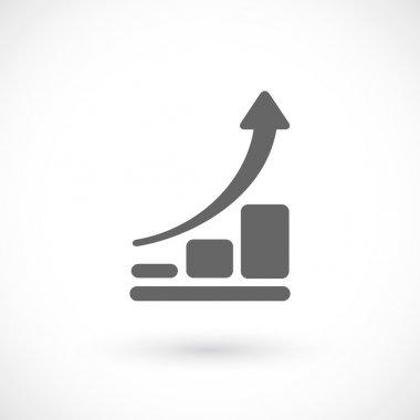Infographic, chart icon