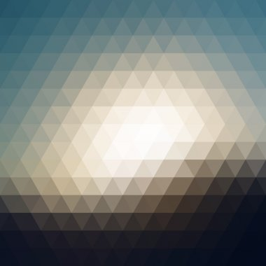 Digital triangle pixel mosaic