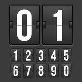 Odpočítávací měřič