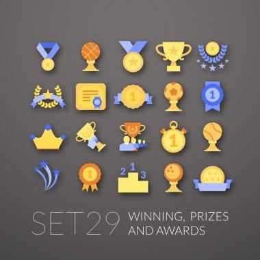 Flat icons set 29