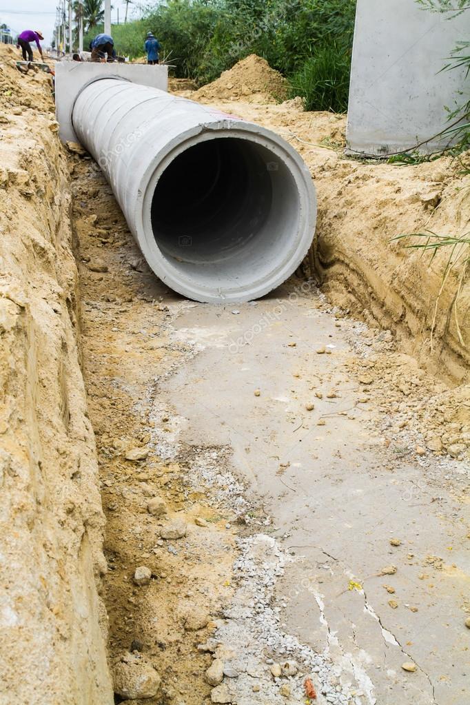 Купить дренажную трубу бетонную