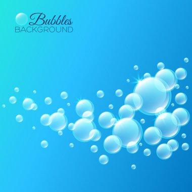 bubbles under water