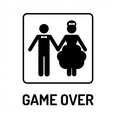 Wedding Symbol - Game Over