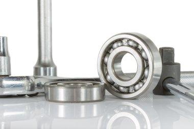 Ball bearing with drive socket set