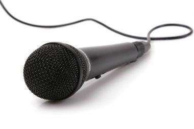 The big black microphone