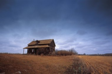 Old Building In A Field