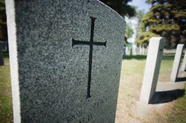 A Graveyard stock vector