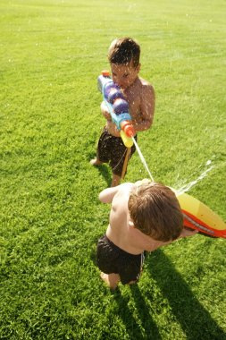 A Water Fight