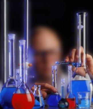 Worker In Chemistry Laboratory