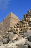 Fotografie Giza Pyramids In Egypt