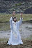 Fotografie Jesus Praying In The Garden Of Gethsemane