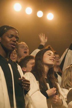 A Choir Sings