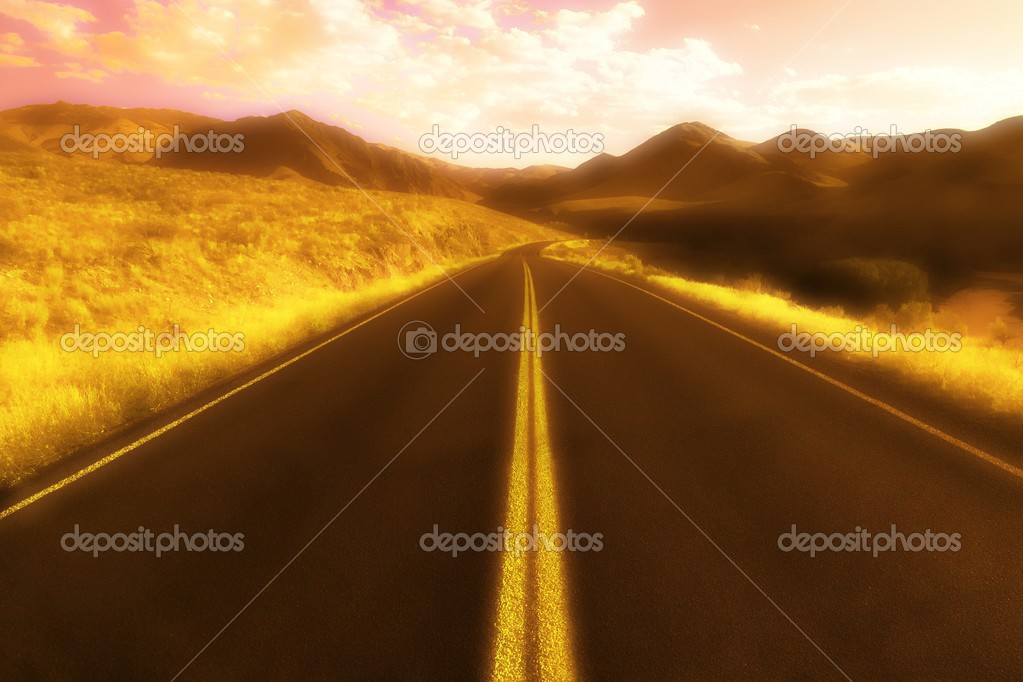 Road Through Mountains