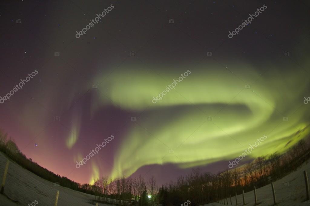 Northern Lights Edmonton Alberta Canada