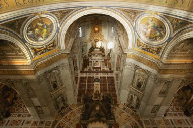 St. Peter's Basilica Vatican City Rome Italy