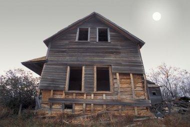 Old Farm House stock vector