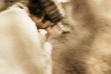 A Man Prays