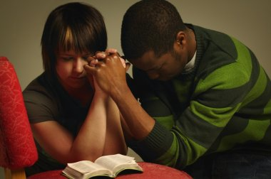 A Couple Praying Together