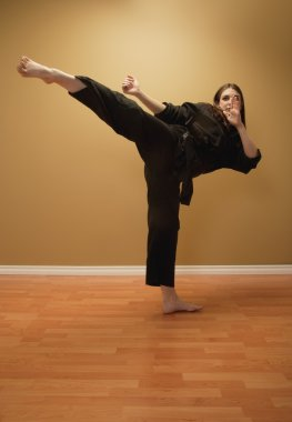 Martial Artist's Kick