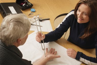 An Occupational Therapist At Work