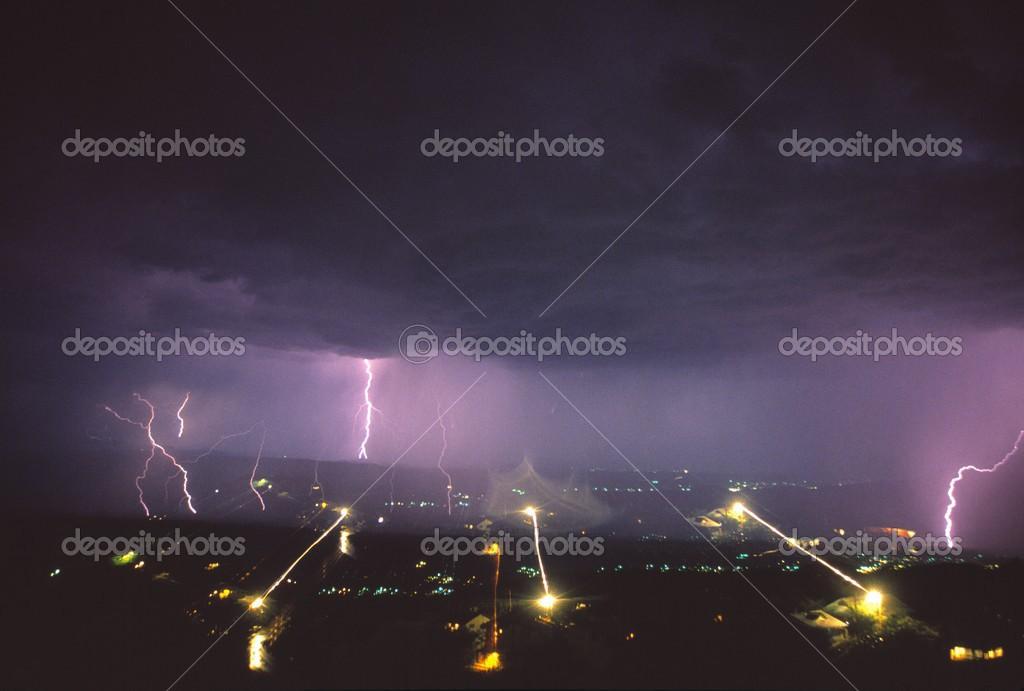 Electrical Storm In Arizona