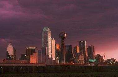 Skyline Of Dallas Texas U.S.A.