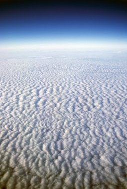 High Altitude View Of Clouds