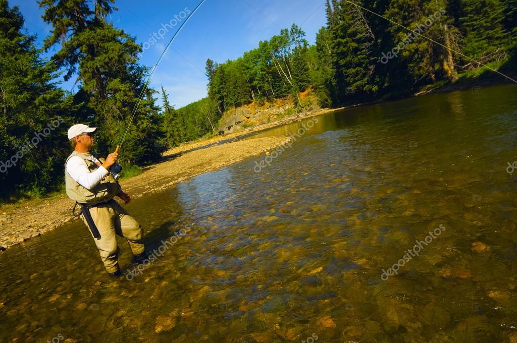 Fly Fishing In Alberta