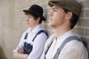 Men In Period Costumes