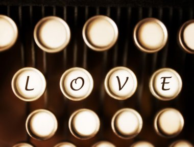 Love Spelled On Keys