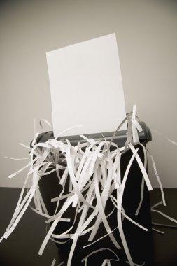 Paper In A Shredder