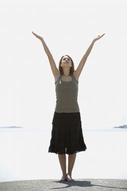Woman Worshipping
