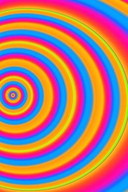 Bright Circular Pattern