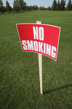 No Smoking Sign Outside